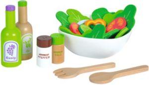 Salat aus Holz Spiellebensmittel