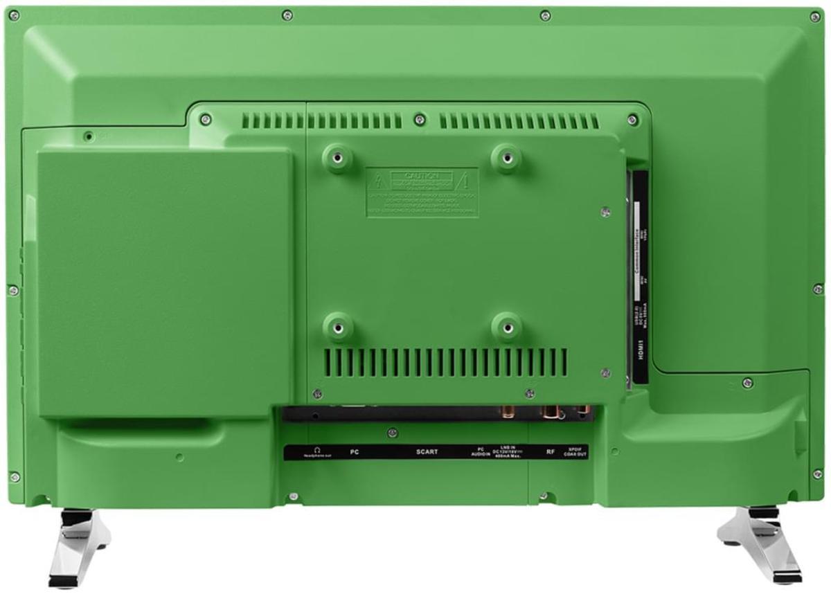 Bild 3 von Medion Life P12501 Full HD LED 54,6 cm (21,5 Zoll) inklusive DVD Player, Triple Tuner, Grün