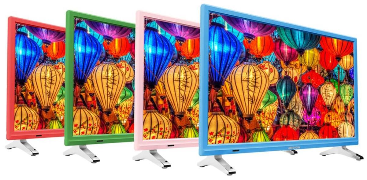 Bild 4 von Medion Life P12501 Full HD LED 54,6 cm (21,5 Zoll) inklusive DVD Player, Triple Tuner, Grün