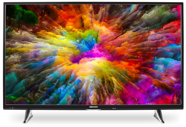 Medion 4K Ultra HD LED TV 138,8 cm (55 Zoll) Life X15581, Triple Tuner, Smart-TV, HDR