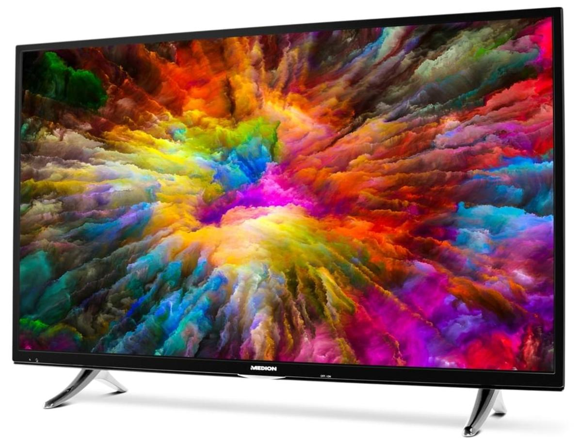 Bild 3 von Medion 4K Ultra HD LED TV 138,8 cm (55 Zoll) Life X15581, Triple Tuner, Smart-TV, HDR