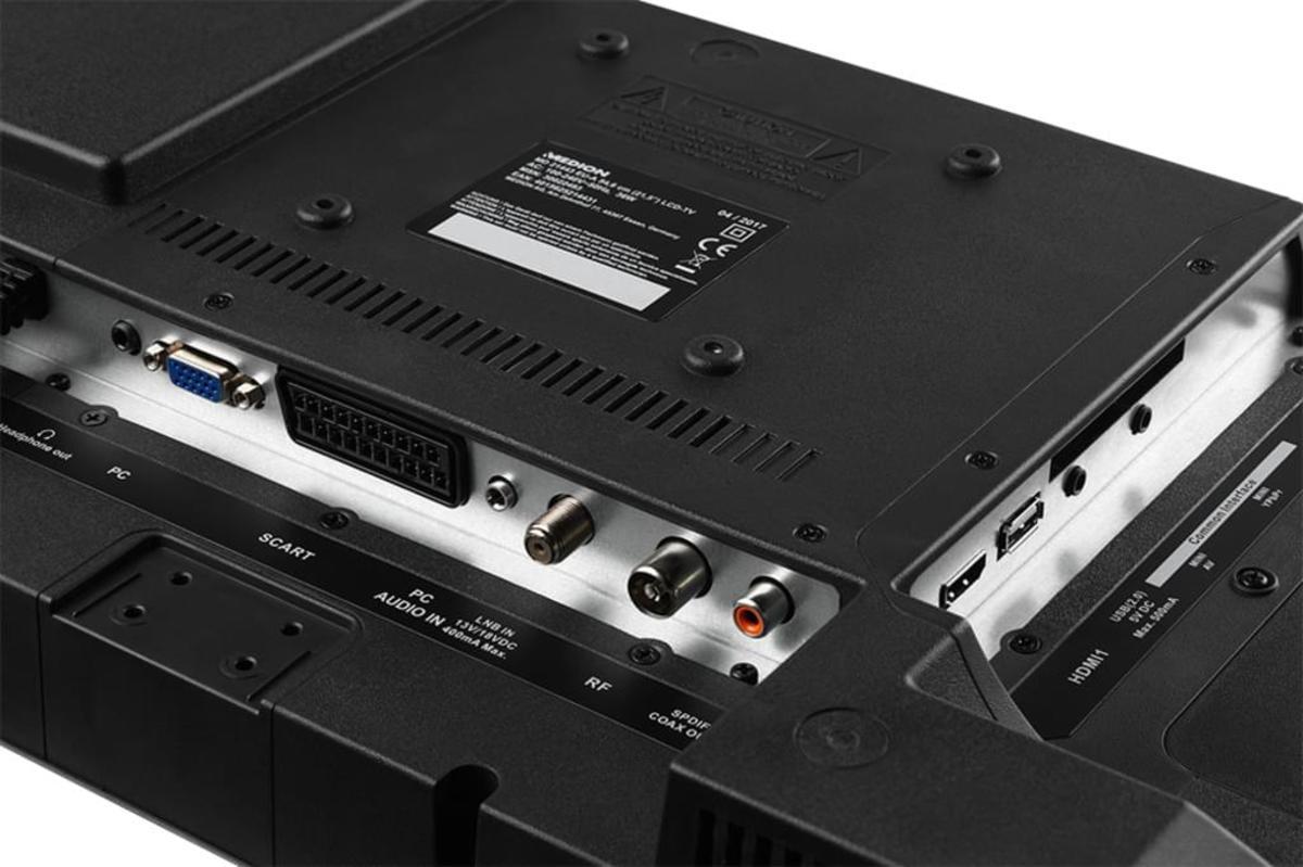Bild 4 von Medion Life P13175 Full HD LED 54,6 cm (21,5 Zoll) Triple Tuner