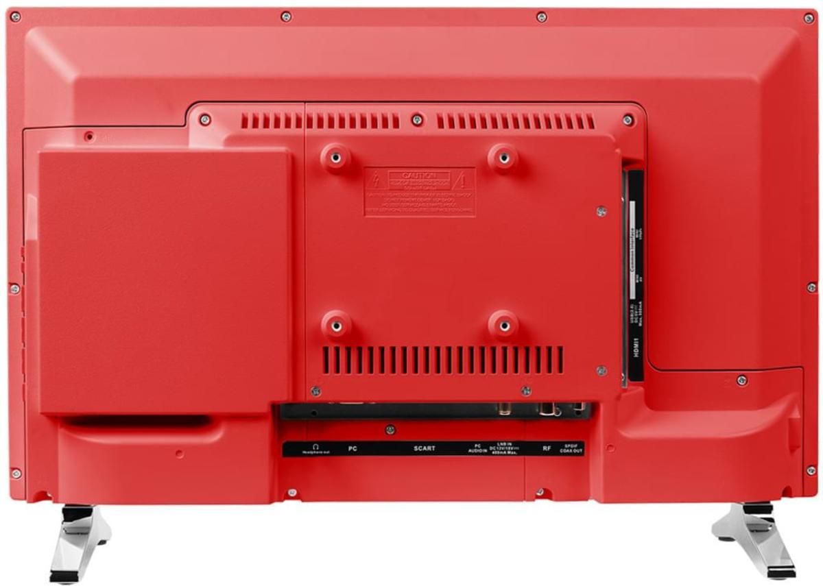 Bild 5 von Medion Life P12501 Full HD LED 54,6 cm (21,5 Zoll) inklusive DVD Player, Triple Tuner, Rot
