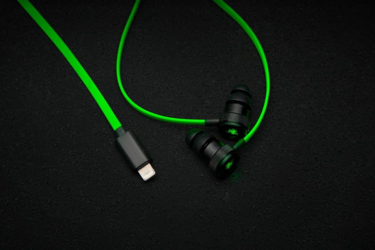 Bild 2 von Razer RZ04-02090100-R3G1, Verkabelt, im Ohr, Binaural, Im Ohr, 20 - 20000 Hz, Schwarz, Grün