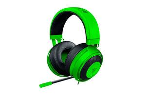 Razer Kraken Pro V2 Oval Ears Gaming Headset Grün 50mm Aluminium Mikrofon, Farbe:Grün