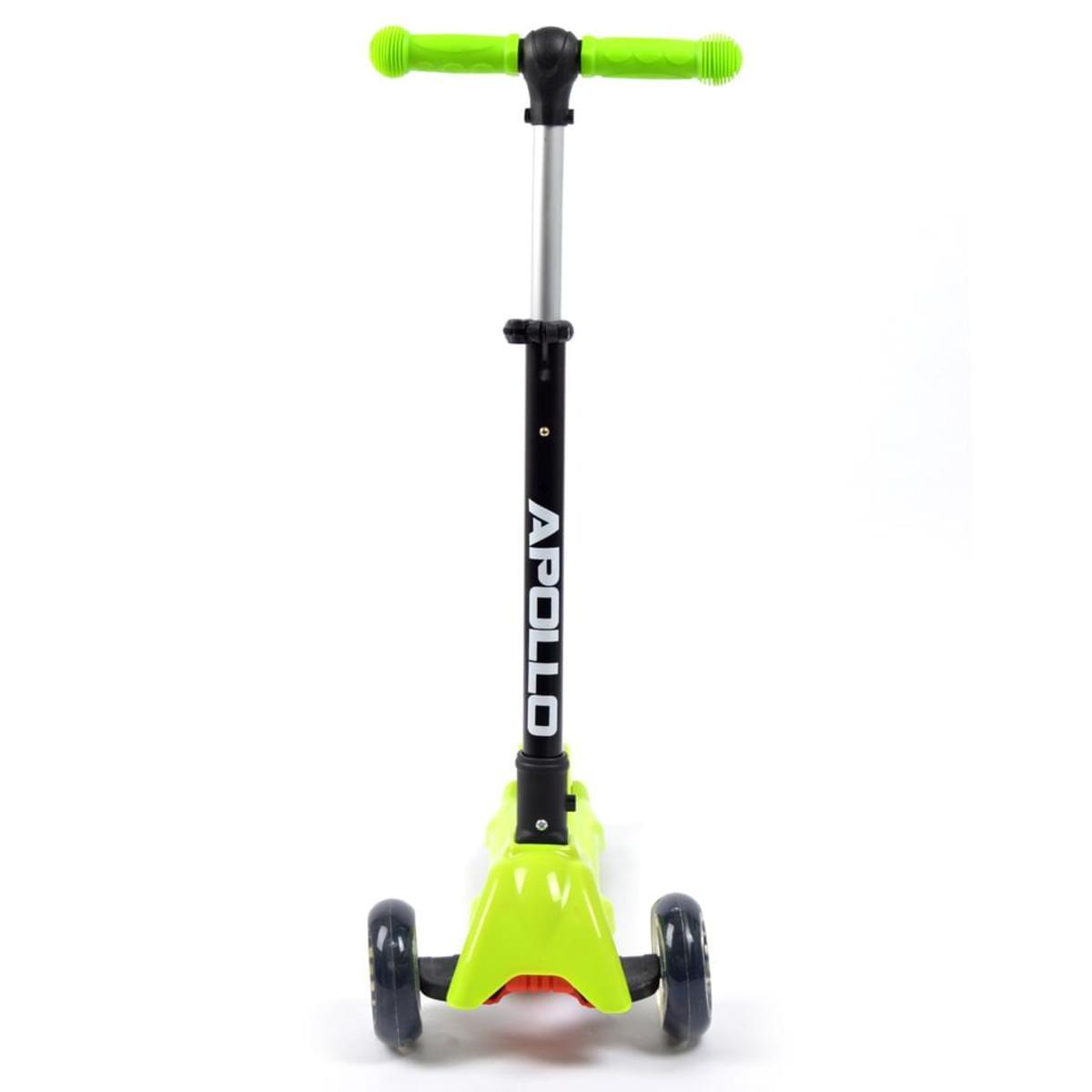 Bild 5 von Apollo Scooter - Candy Racer LED - Grün - Kinderscooter ab 3 Jahren, faltbarer Kickboard-Scooter mit  LED Leuchtrollen