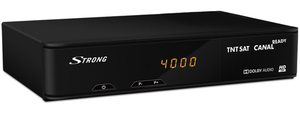 Strong SRT 7404, Satellit, Digital, MPEG4, 18 W