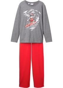 Pyjama mit Weihnachtsmotiv (2-tlg.)