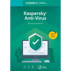Kaspersky Anti-Virus 2019 1PC 1Jahr FFP / Produkt Key