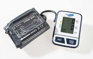 Dittmann Digitales Oberarm-Blutdruckmessgerät EBO 526