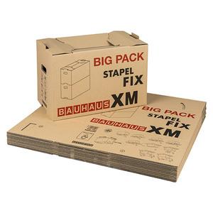 BAUHAUS Umzugskarton Set Multibox XM Stapel-Fix