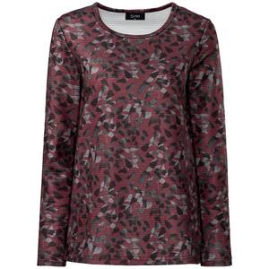 Damen Pullover mit Allover-Print