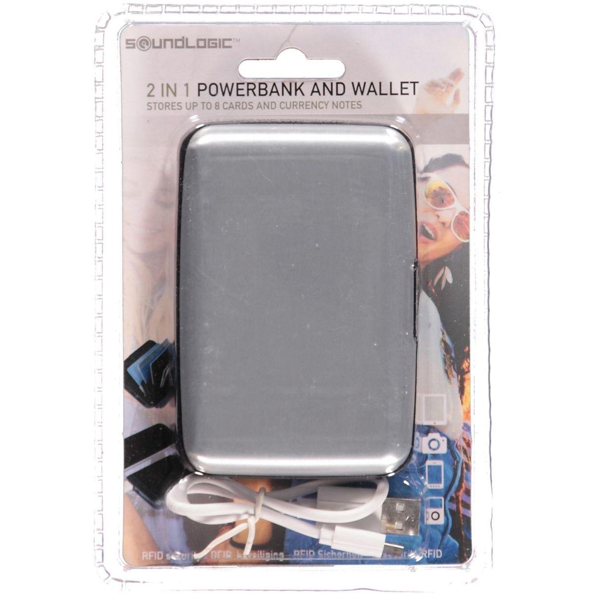 Bild 2 von Powerbank mit Kreditkartenhalter 11x7,5cm