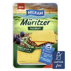Milram Müritzer herzhaft oder Sylter Käse Deutscher Schnittkäse, 55/48 % Fett. i. Tr. und weitere Sorten jede 150-g-Packung