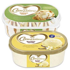 Langnese Cremissimo Eis versch. Sorten, (ausgenommen Laktosefreie Sorten)  jede 500/900/1000-ml-Packung
