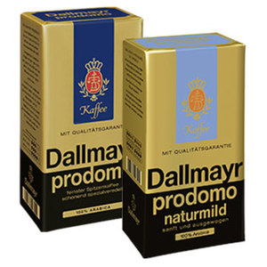 Dallmayr Prodomo, entcoffeiniert, Naturmild oder Prodomo ganze Bohne jede 500-g-Vac.-Packung/Packung