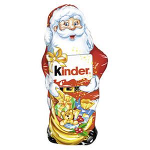Ferrero Kinder Schokolade Weihnachtsmann jedes 110-g-Stück