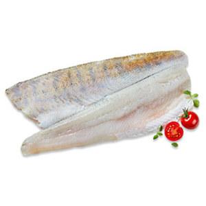 Zanderfilet mit Haut Wildfang, Binnenfischerei, Osteuropa, getaut, je 100 g