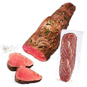 Deutsches Rinder Filet gefroren, je 1 kg