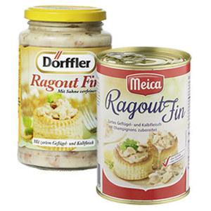 Dörffler Ragout Fin oder Meica Ragout fin jedes 400-g-Glas