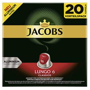Jacobs Kapseln versch. Sorten jede 20er=104-g-Packung