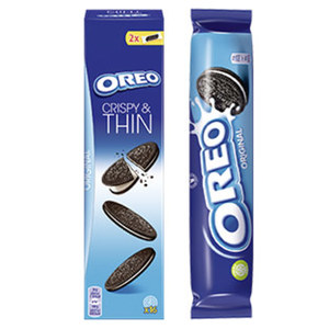 Oreo Classic, Double Rolle oder Crispy & Thin jede 154/157-g-Rolle/jede 96-g-Packung