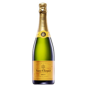 Champagner Veuve Clicquot brut jede 0,75-l-Flasche