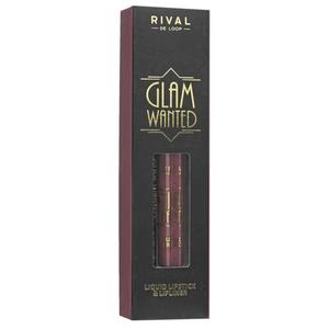 RIVAL DE LOOP Glam Wanted Lip Kit - 02 Fabulous