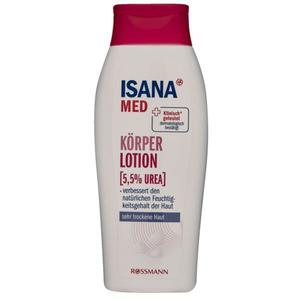 ISANA MEN Körperlotion (5,5% Urea) 1.99 EUR/250 ml