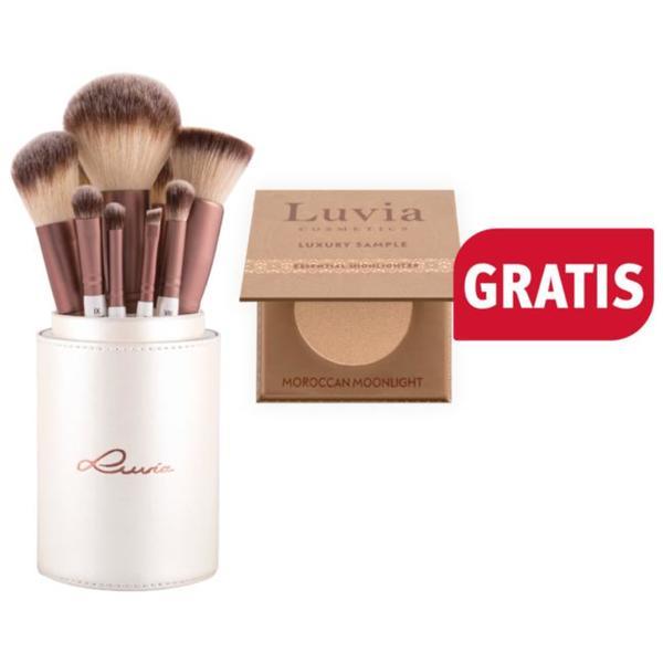 Luvia Cosmetics Prime Vegan Brush Set
