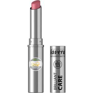 lavera Beautiful Lips Brilliant Care Lipstick Q10 03 Oriental Rose