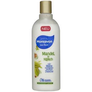 Monsavon au lait Duschgel mit Mandelduft 6.63 EUR/1 l