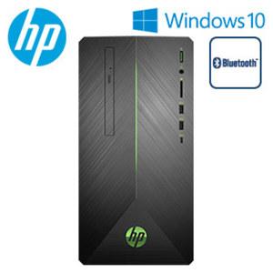 Gaming-Desktop-PC Pavilion 690-0770ng · AMD Ryzen™ 5 2600 (bis zu 3,8 GHz) · AMD Radeon™ RX550-Grafikkarte (2 GB GDDR5 dediziert) · 5.1 Surround Sound · USB 3.1 Type-C, USB 3.1, USB 2.0 · DV