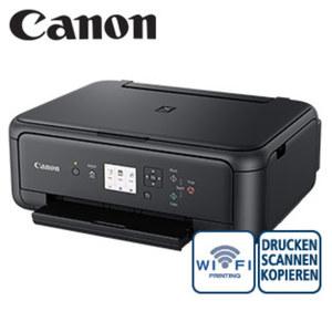 3-in-1 Multifunktionsdrucker Pixma TS5150 · kabelloses Drucken über WLAN · kostengünstige Einzeltinten