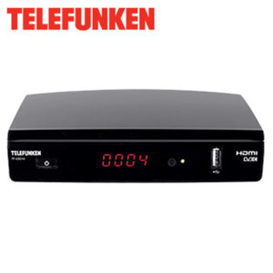 HDTV-Kabel-Receiver TF-C9210 4-stelliges Display, EPG, HDMI-/Scart-/USB-Anschluss