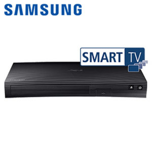 3D-Blu-ray-Player BD-J5500 im Curved-Design Dolby True HD, DTS, Upscale auf 1080p, HDMI-/USB-/Ethernet-Anschluss