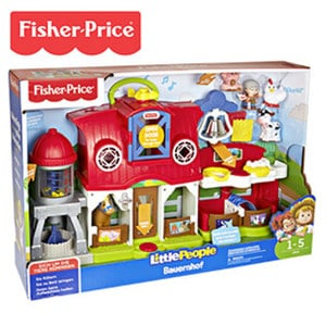 Fisher-Price Little People Bauernhof ab 12 Monaten, inkl. Batterien