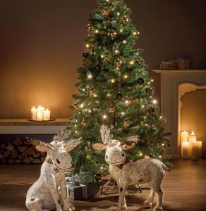 Künstlicher  Weihnachtsbaum Holz-Optik