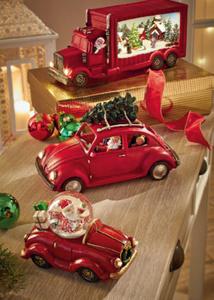 Käfer mit  Santa und  Weihnachtsbaum