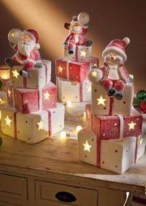 LED Deko Figur auf  Geschenken