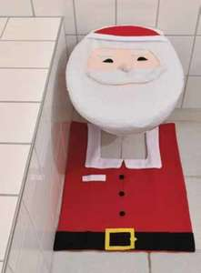 WC-Weihnachtsdekoration