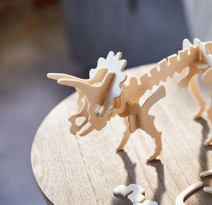 "3D-Steckpuzzle ""Dinosaurier"""
