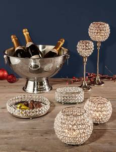 Champagnerkühler oder Kugelwindlicht