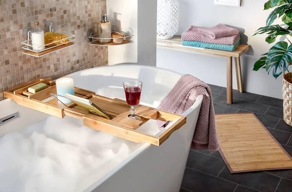Holzablage Fur Die Badewanne Von Woolworth Ansehen