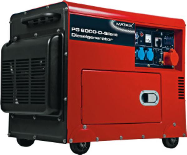 MATRIX Diesel Stromerzeuger  PG 6000 D Silent