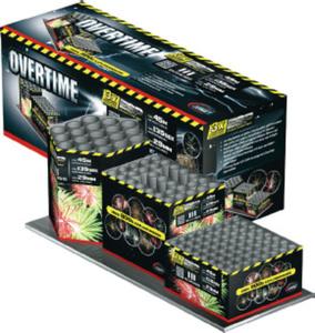 COMET Overtime 3er Batterieverbund mit 111 Schuss