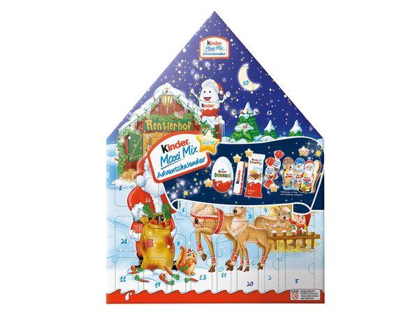 Kinder Maxi Mix Adventskalender von Lidl ansehen!