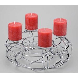 obi k nstlicher tannenkranz 40 cm mit led beleuchtung. Black Bedroom Furniture Sets. Home Design Ideas