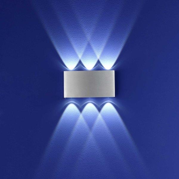 B LEUCHTEN LED Außenwandleuchte Stream von Segmüller für 104 € ansehen