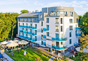Polen - Ostseeinsel Usedom  Hotel Laguna - Swinemünde